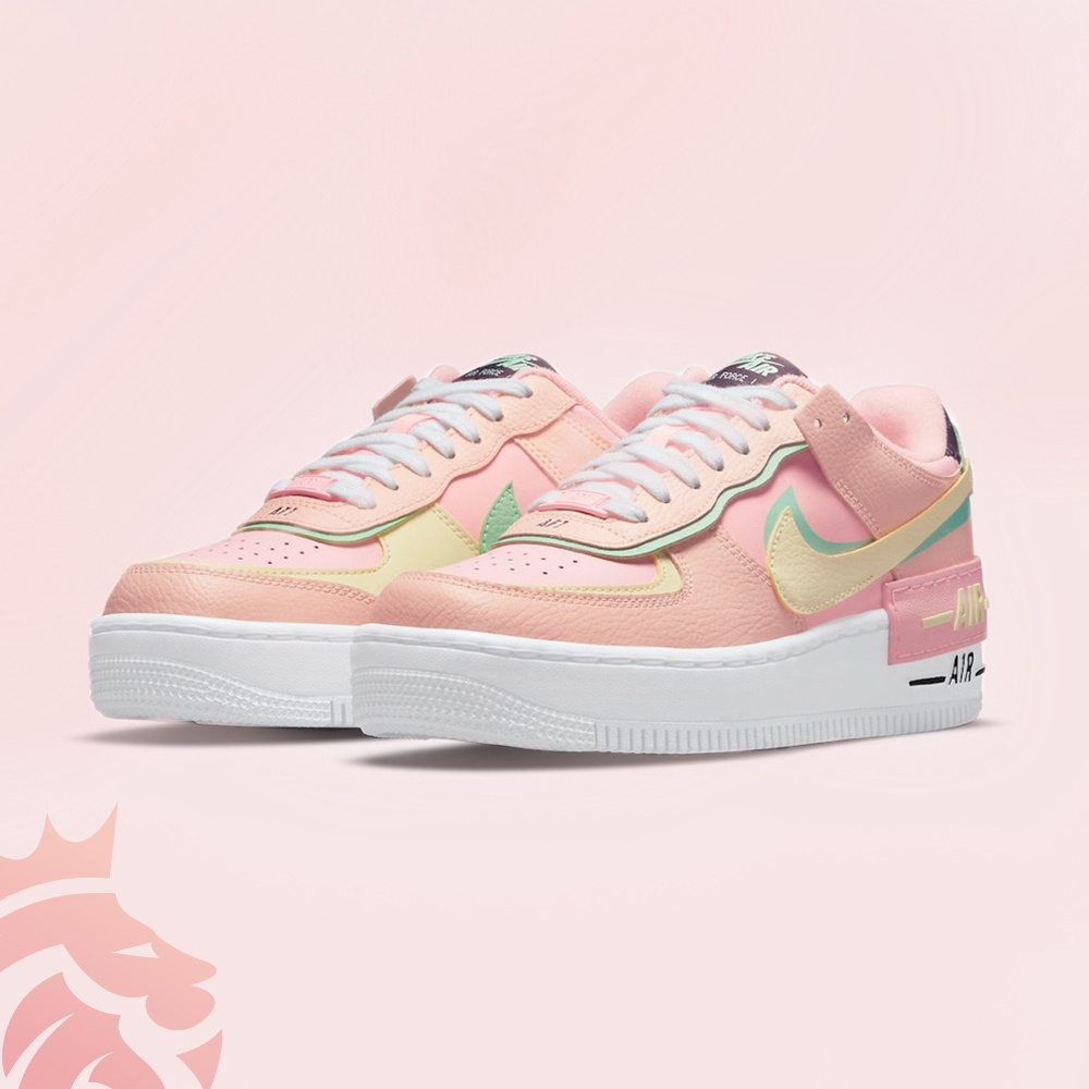 Nike Air Force 1 Shadow CU8591-601 Arctic Punch/Barely Volt/Crimson Tint