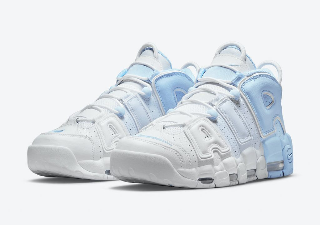 Nike Air More Uptempo DJ5159-400 White/Football Grey/Psychic Blue