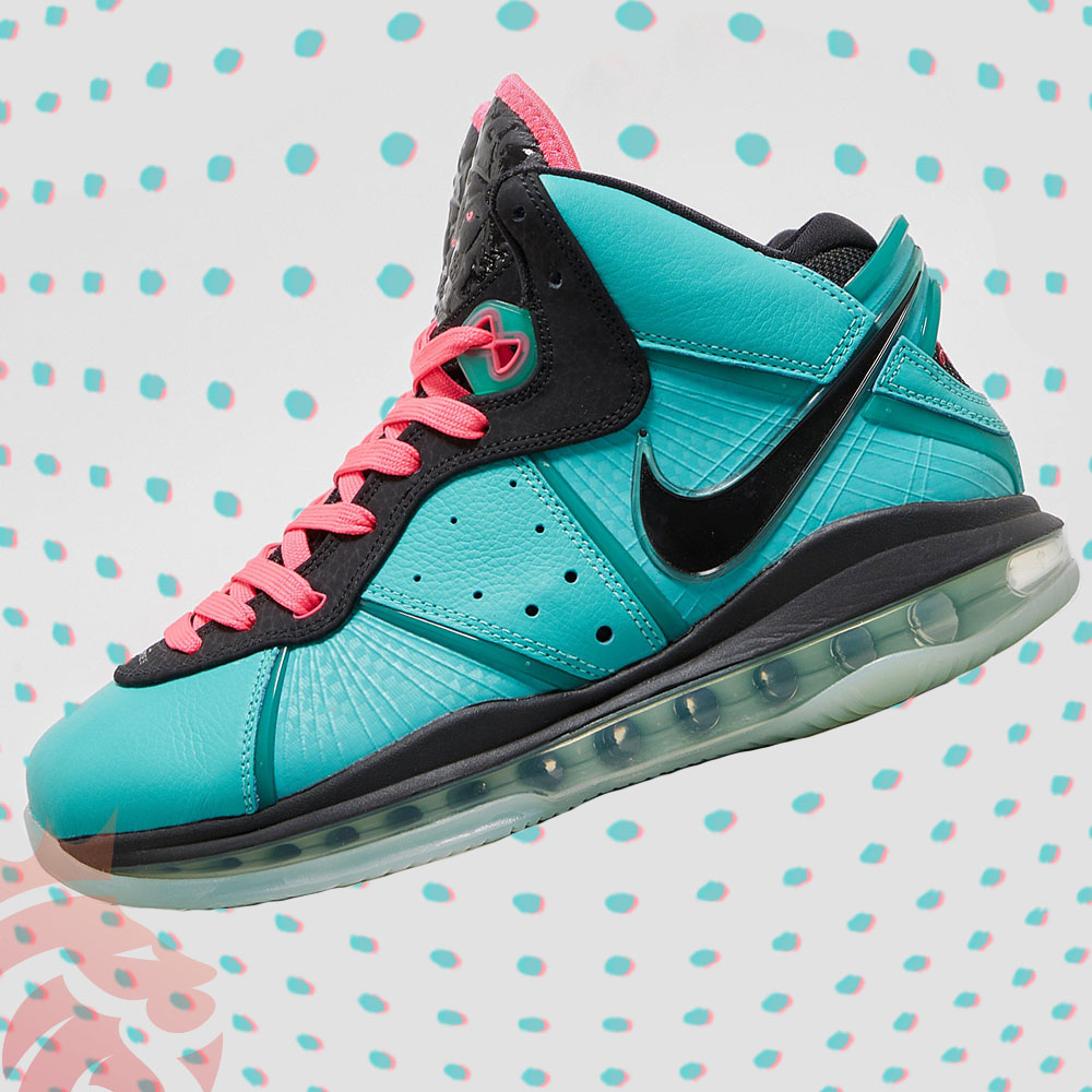 Nike LeBron 8 South Beach 2021